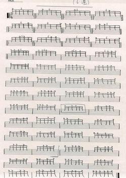 色々な音符の練習01